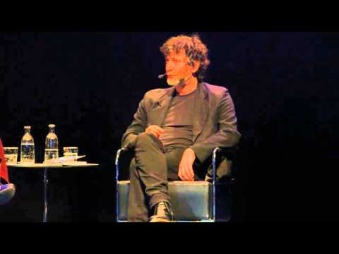 Neil Gaiman in Stockholm, Sweden