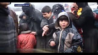 تزايد النزوح من ريف حلب الشمالي