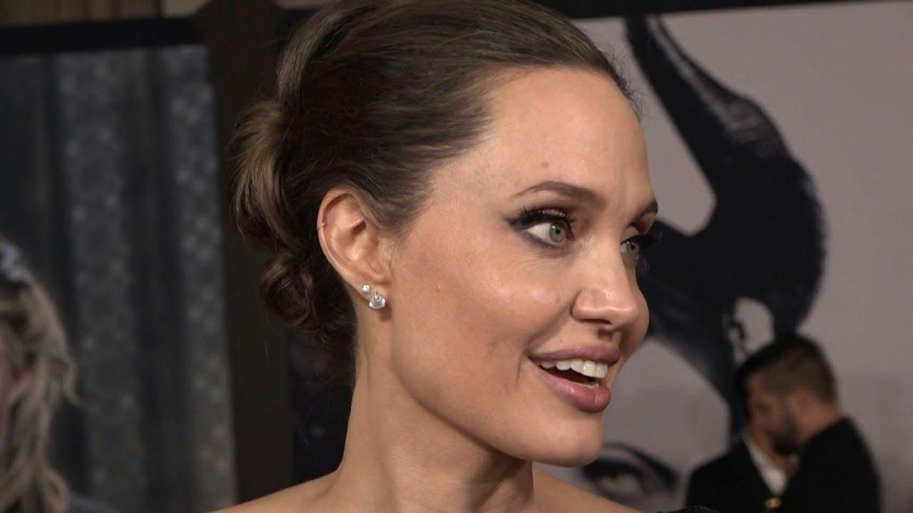 Angelina Jolie Attends Maleficent Mistress Of Evil World Premiere Afp