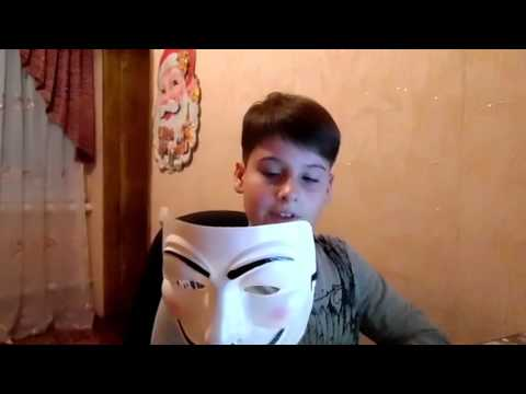 Обзор маски Гая Фокса