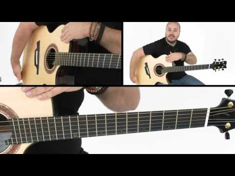 """How to Play """"Drifting"""" - Intro Breakdown - Andy McKee Guitar Lesson"""