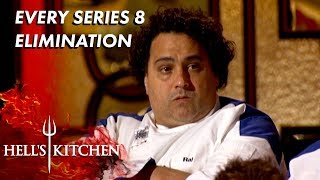 Every Series 8 Elimination On Hell's Kitchen