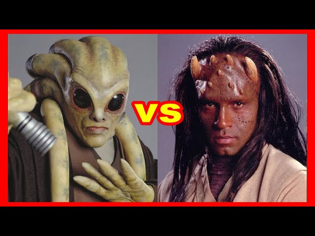 Star Wars Versus Series: Kit Fisto Vs. Agen Kolar