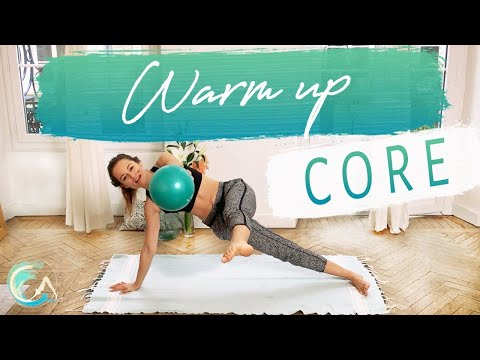 SMALL BALL WORKOUT For CORE Stability WARM UP Preview
