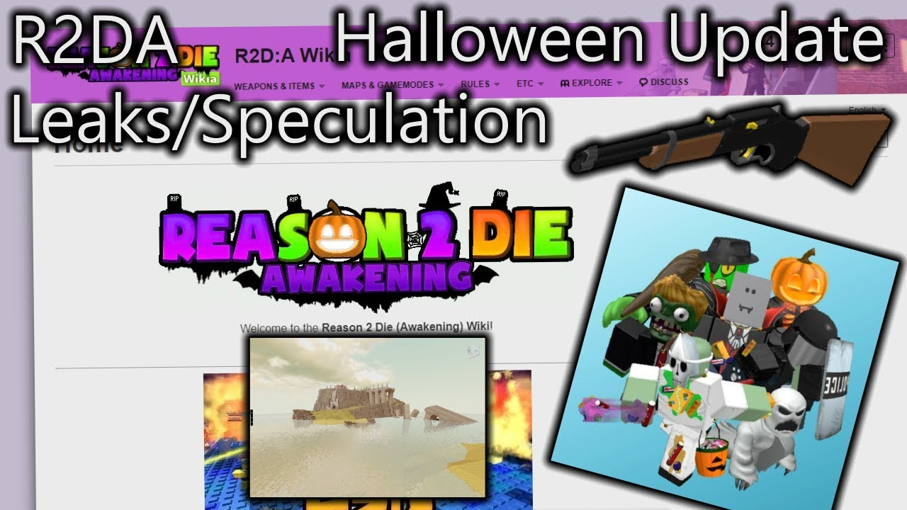 Roblox Halloween Event 2020 How To Get The Rip Halloween Event Leaks/Speculation|R2DA   YouTube