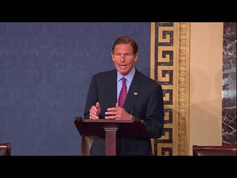 Sen. Blumenthal Speaks on Partisan Efforts to Deflect Attention from Russia Investigation