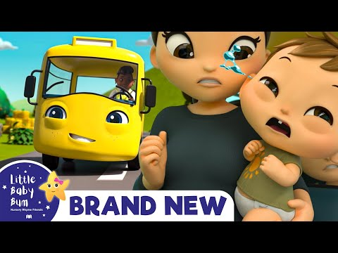 Cantec nou: Buster's Wheels on The Bus | BRAND NEW | +More Nursery Rhymes & Kids Songs | Little Baby Bum