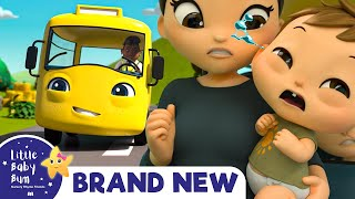 Buster's Wheels on The Bus | Brand New Nursery Rhymes & Kids Songs Learn ABC & 123 | Little Baby Bum