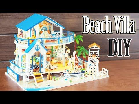 DIY Miniature Dollhouse Kit || Beach Villa - Miniature Land