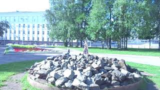 Утро.. август 2017 г. Стефановская площадь.. г.Сыктывкар