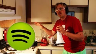 Recording A Spotify Ad by : Gus Johnson