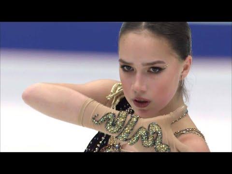 Алина Загитова. Произвольная программа. Женщины. NHK Trophy. Гран-при по фигурному катанию 2019/20