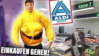 Mit 100 SCHICHTEN Klamotten einkaufen GEHEN! (peinlich)
