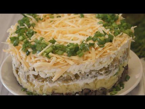 Самые простые и вкусные рецепты салатов с фото