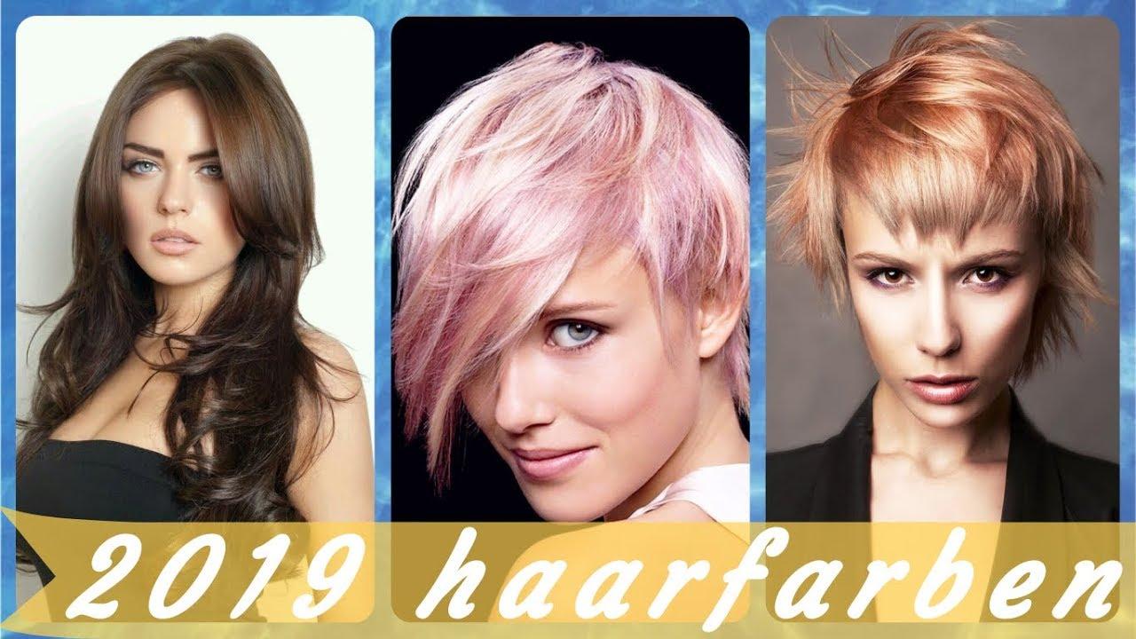 Haarfarben 2019