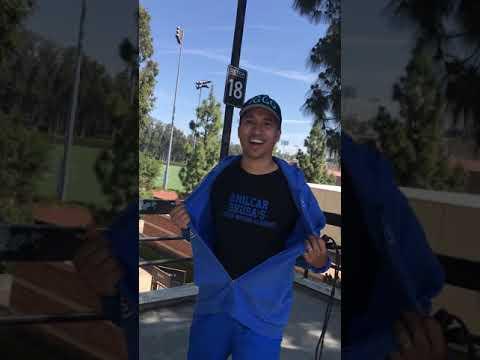 Me and Coach talk boxing at Straus Stadium/UCLA - Zab Judah trivia - April 3, 2021