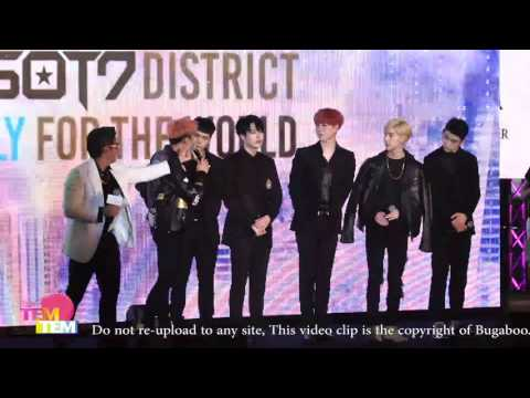 "160511 GOT7 1st CONCERT ""FLY IN BANGKOK"" Press Conference"