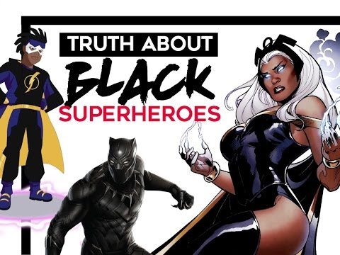 The Truth About Black Superheroes @theshadowshowtv