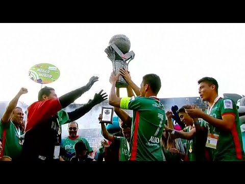 Watch: Mexico takes gold at Homeless World Cup