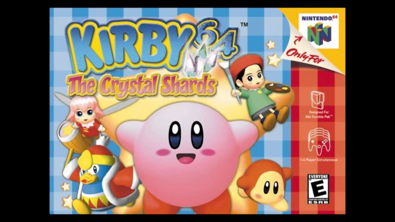 kirby 64 the crystal shards music world map