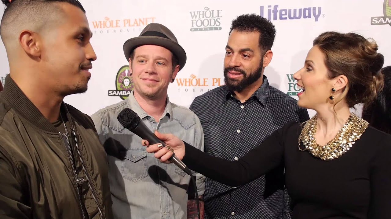 Wake Up! on the Red Carpet at the Whole Planet Foundation Pre-Grammy Party