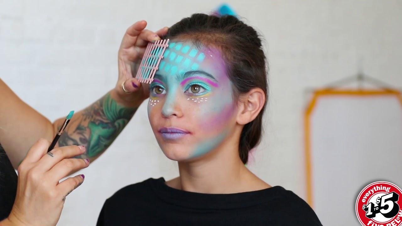Halloween Mermaid Makeup Five Below Tutorial