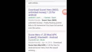 HOW TO DOWNLOAD SCORE! HERO MOD APK