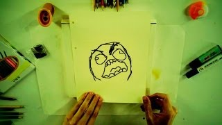 Video How to draw Rage Comics Troll Faces - How 2 Draw: drawing tutorials for everyone download MP3, 3GP, MP4, WEBM, AVI, FLV Agustus 2018