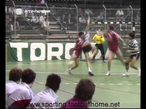 Andebol :: Sporting - 29 x Winthertur (Suíça) - 25 de 1988/1989 - Taça das Taças - 1ª Elim - 1ª Mão