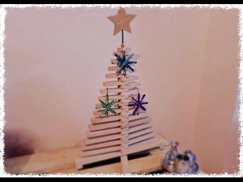 Manualidades para navidad copo de nieve con palitos de - Manualidades con fieltro para navidad ...
