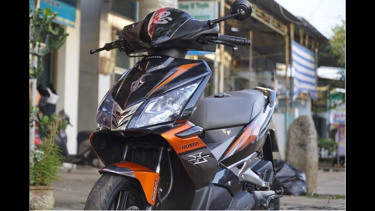 Khi Air Blade Thái Lên Khóa Honda SmartKey Chính Hãng Sẽ Như Thế Nào ?