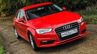 Какие проблемы у Ауди А3 седан на ходу? Audi A3 sedan 2014 тест драйв