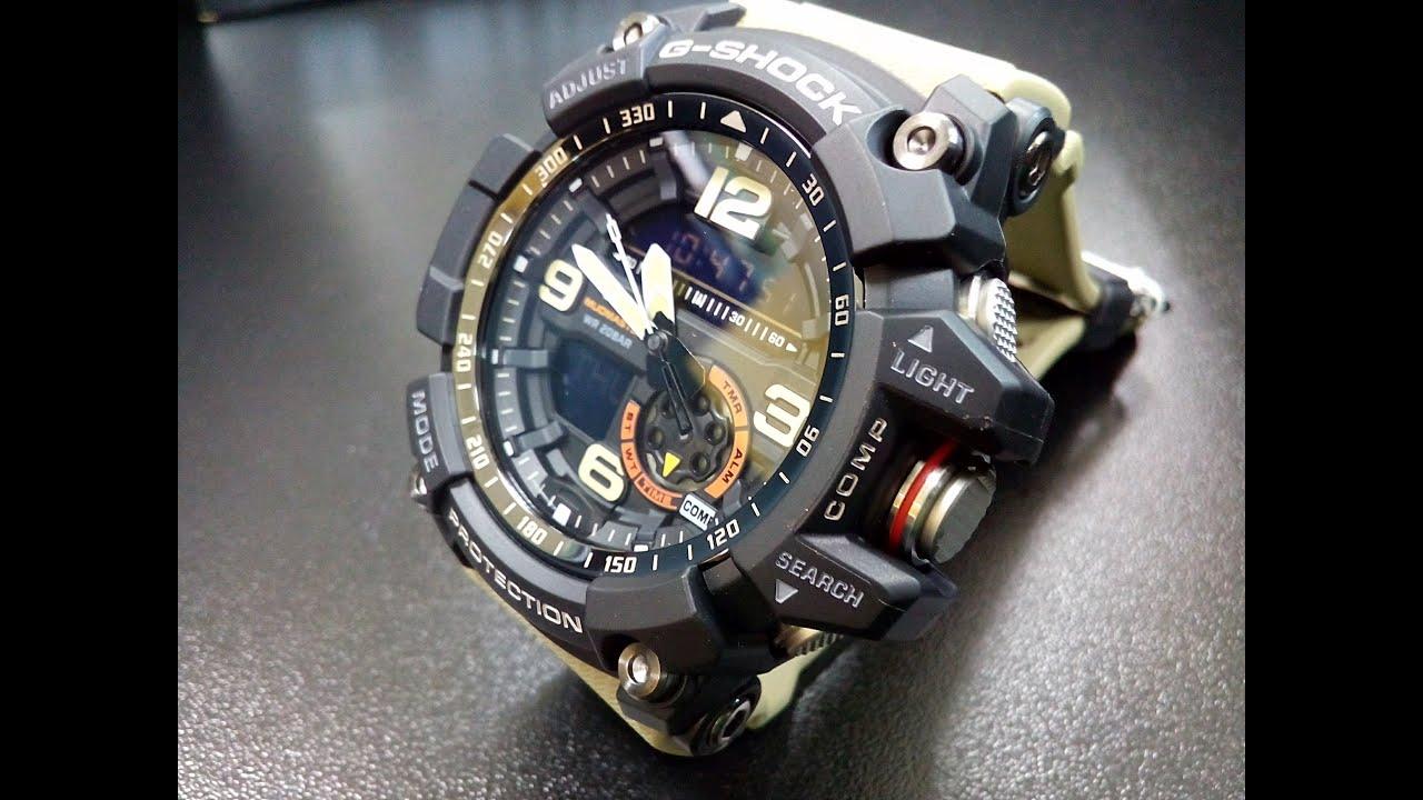 CASIO G-SHOCK MUDMASTER GWG-1000. Обзор часов Casio Mudmaster GWG .