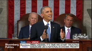 Obama: Child Care Is a National Economic Priority