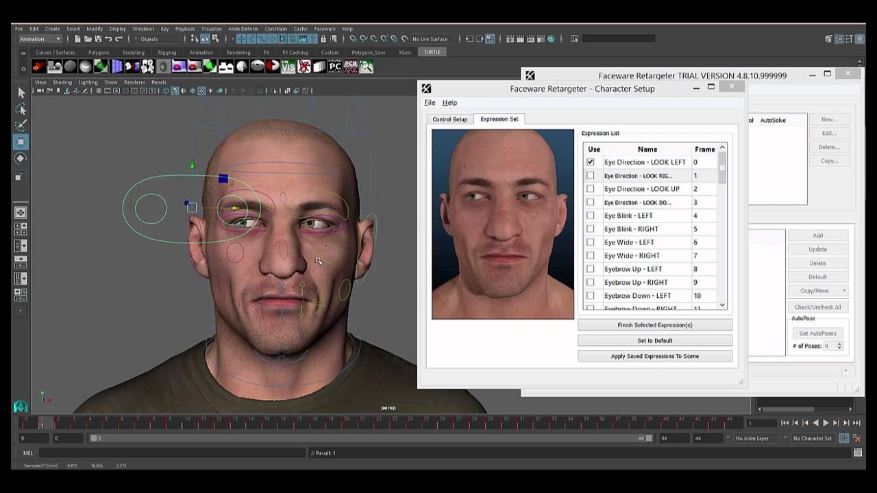 Faceware Retargeter 5.0: Expression Sets - YouTube