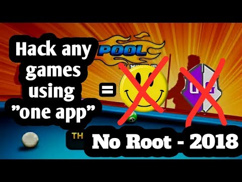 HACK ANY GAMES USING ONE APP - NO ROOT (2018)