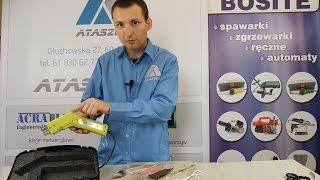 Video: Nóż do cięcia taśmy na gorąco AT-130