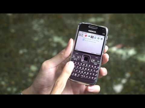 Tinhte vn - Trên tay Nokia E72 màu tím (phiên bản giới hạn, năm 2010)