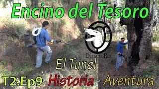 Buscando el TESORO del ENCINO - Historia y Aventura - El tesoro de la Ardilla 1ra. parte DetectoRex