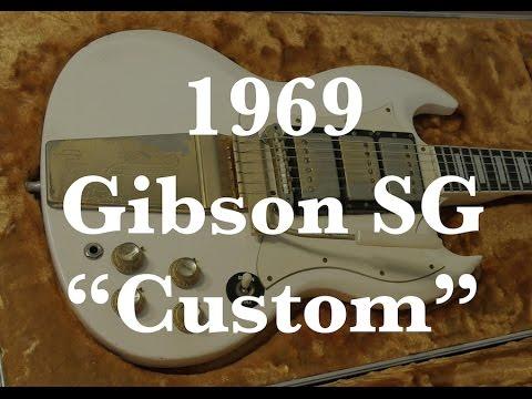 1969 gibson sg custom hendrixish guitar red house youtube
