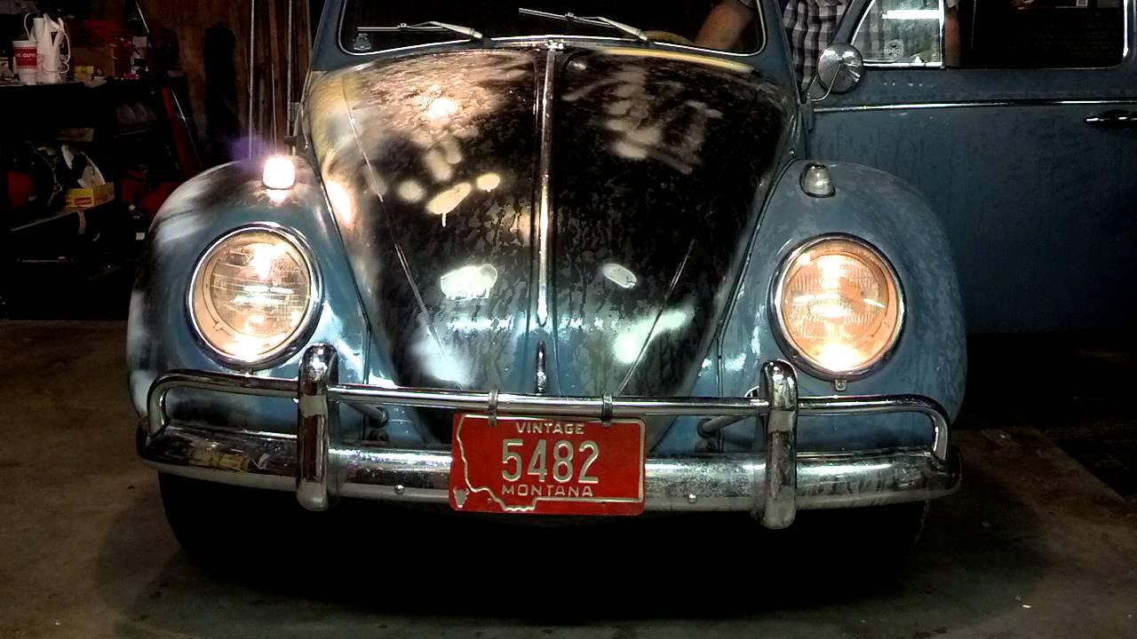 Matt's 1963 Volkswagen Beetle front parking lights ...