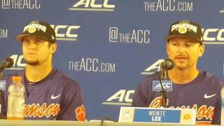 TigerNet.com - Clemson post ACC Baseball Championship Game press conference
