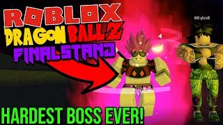 BROLY FINAL BOSS, SSJ4 TRANSFORMATION, AND MORE! Dragon Ball Z Final Stand UPDATE on Roblox!