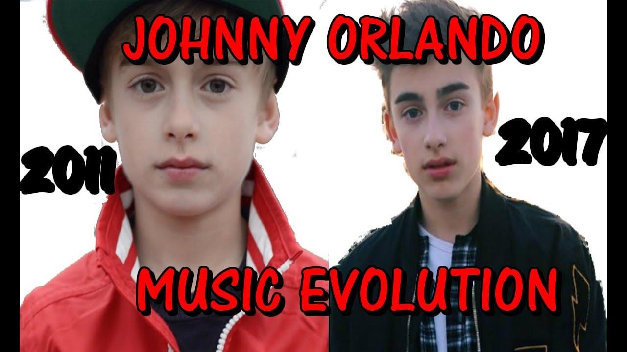 Johnny Orlando Music Evolution (2011 - 2017) - YouTube