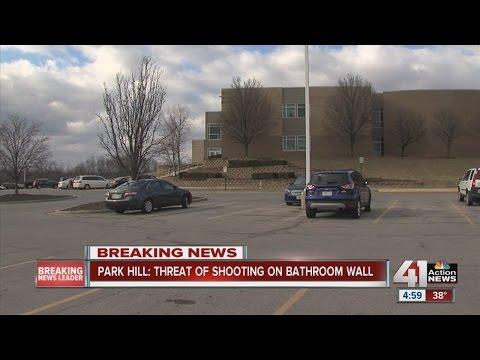 Park Hill South High School on alert after gun threat found in bathroom