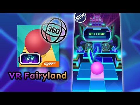 Rolling Sky - VR Fairyland But It's In 360° (4K)