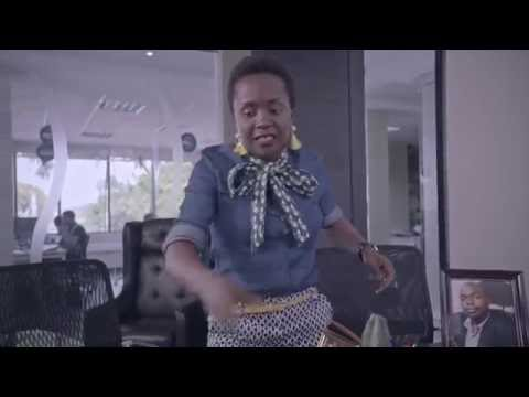 Anne Kansiime is on the job