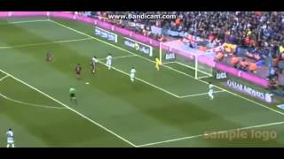 Suarez amazing goal vs Real Sociedad  (2-0)