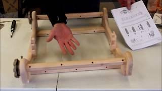 Ashford Rigid Heddle Loom Assembly