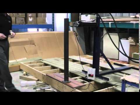 Railing Test on Fiberon Composite Decking